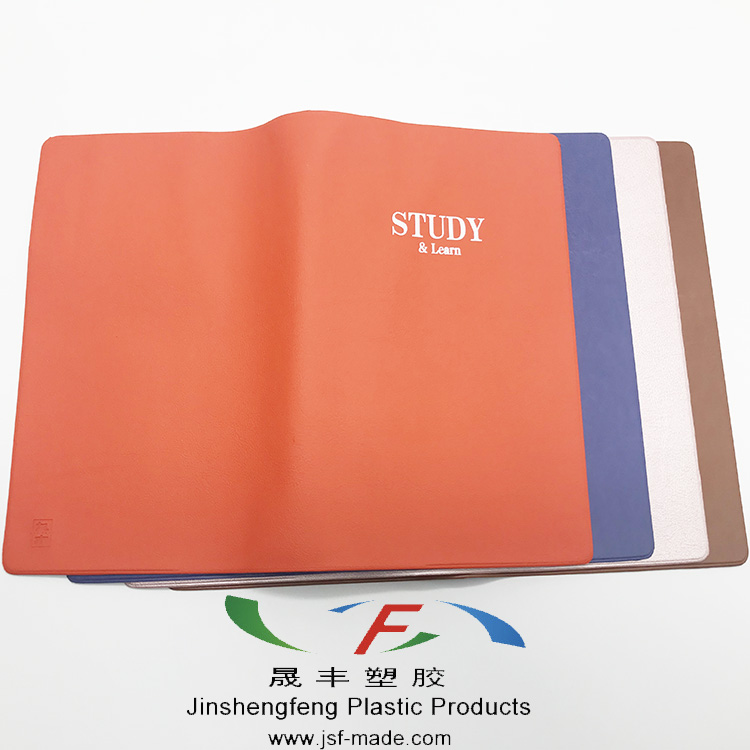 01ca3736c51ea Plastic Notebook Cover,Assorted Color Book Cover with pocket, OEM design