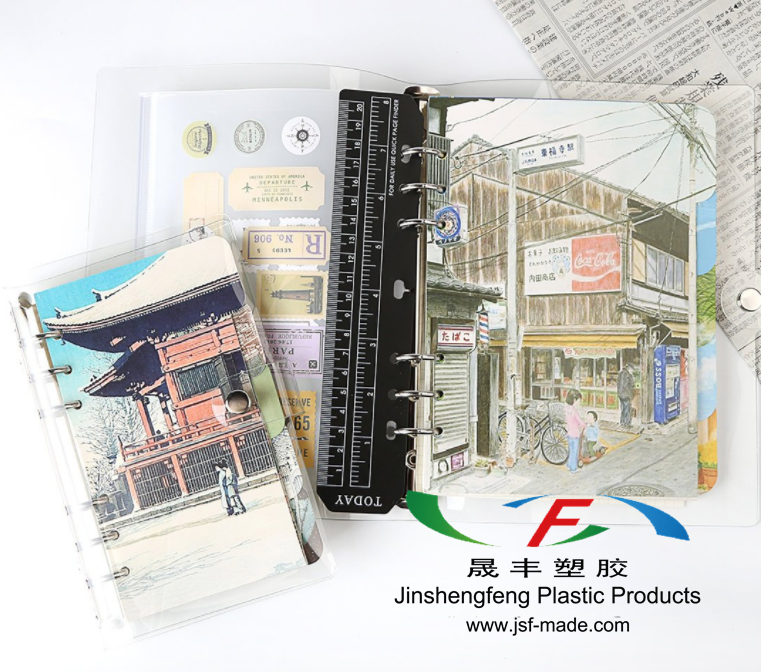 OEM Design Plastic Inserts For Binder A5/A6/A7, PP Inserts