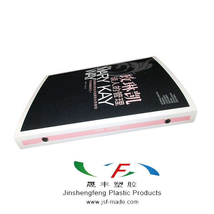 Plastic 6-Ring Binder,Plastic Binder With 6-ring Metal
